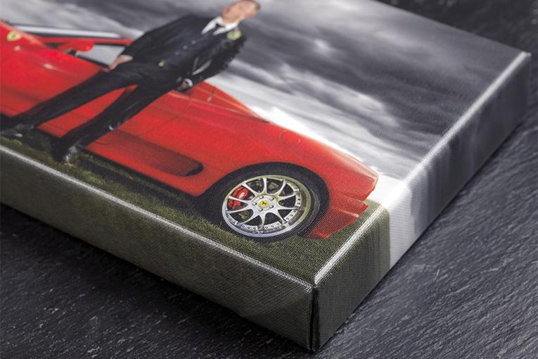 Eksklusivt Canvasprint på 40mm blindramme