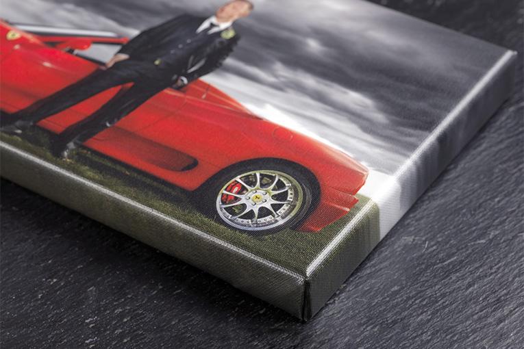 Klassisk Canvasprint på 16mm blindramme