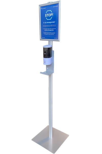 Dispenser m. sensor på stander